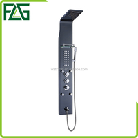2018 China Supplier Black Titanium Shower Panel