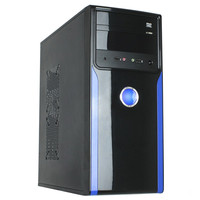 High end Atx cases with double handle gaming computer pc cases