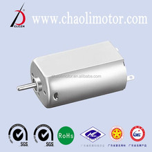 CE ROHS,SGS and ISO9001 certification 24V CL-FK180SH dc gear motor for fan,hair drier,sexy toys and helicopter