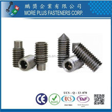 Made In Taiwan Socket Set Screws Set Screw For Door Handle Security Set Screw