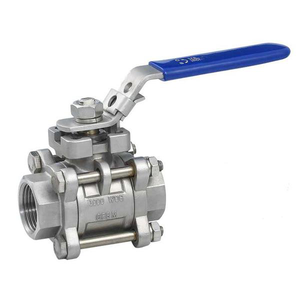 SS Double Eccentric Half Ball Valve for Gas and Oil