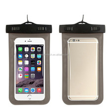 2016 Hot products 5.5 inch universal pvc mobile phone waterproof case,IPX8 Certified to 100 Feet cell phone waterproof bag