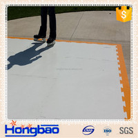 natural white HDPE Tapered Poly Ramps manufacturer of HDPE sheet