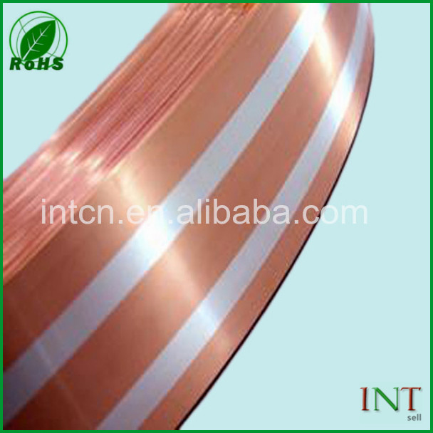 Rohs tested Sensor material strip silver inlay copper strip