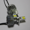 Good heat dissipation led auto h4 12v 100w super bright hid xenon h4 prices white color 9000lm car h4 led headlight bulbs