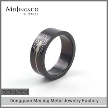 Cheap Wholesale Stainless Steel Fancy Engagement Mens Ring Sample