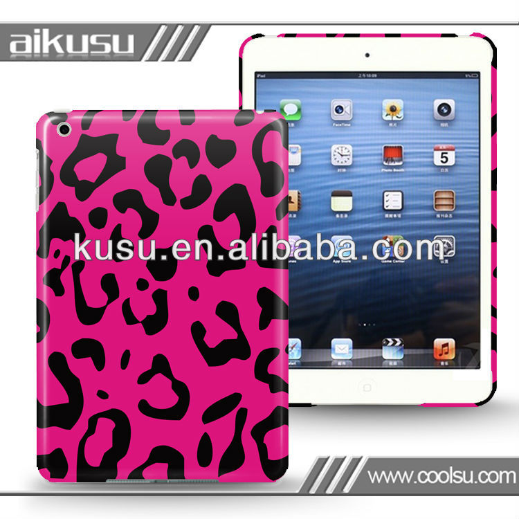 no residue!! cute animal case for mini ipad