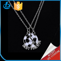 2016 the Europeen Championship football pendant necklace