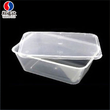 Wholesale disposable eco food packaging sealable plastic container plastic packaging box for food