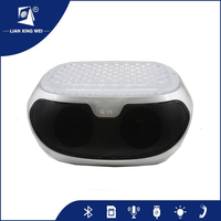 2016 Digital video player Q98 portable bluetooth 5W*2 led speaker from china speaekr factory