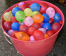 Hot Selling Water Game 100 Pcs Can Fill With 1 Minute No Leakage Magic Water Balloon