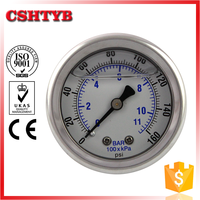 China professional manufacturer Reasonable price bar oil pressure gauge