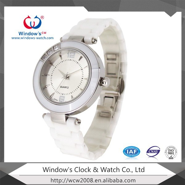 2014 new arrival for ladies and girls is coming soon ceramic watch