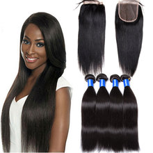 American Market Best Selling Virgin Remy Hair 8a Grade Brazilian Stright wave Hair Unprocessed Wholesale Brazilian Virgin Hair