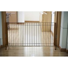 Pet Fence indoor with frame and wood for wholesale pet cages and pet fences