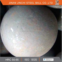 hot rolled steel ball forged grinding media ball for ball mill and coal mill