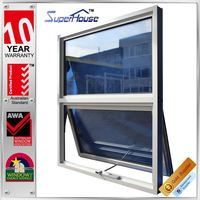 New design great view awning window winders for home