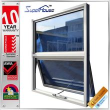 Tempered Glass window New design Great View Chain Winders Awning window for home