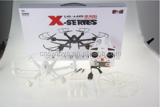 MJX X600 2.4G 6 Axis 3D Rolling Headless Mode One-Key Return RC Quadcopter RC Drone