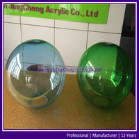 Colored Acrylic Ball, Acrylic Sphere With Hole Opening