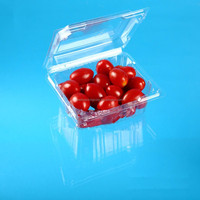 Clear Clamshell Plastic Tomato Packaging For