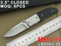 UTILITY OUTDOOR CAMPING KNIFE, 420 STAINLESS STEEL BLADE WITH G10 HANDLE, FACTORY STORE POCKET FOLDING KNIFE