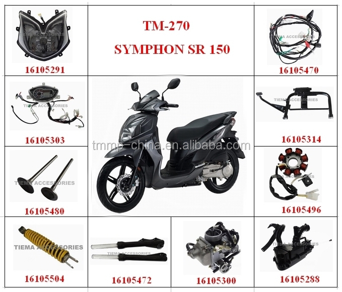 TM-270 SYMPHON SR 150 Motorcycle spare parts[MT-0102-0543A],high quality