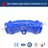 22.5 degree socket bend DN200 for PVC ductile iron pipe fitting