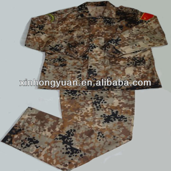 Camouflage woodland army military uniform