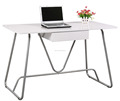 Hot selling low price white high gloss computer desk table