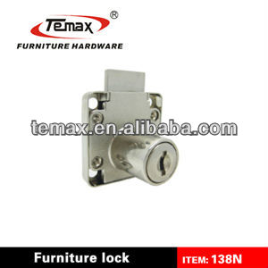 138N Zinc alloy Cabinet Furniture Small Drawer Lock