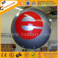 2016 Hot sale advertising inflatable helium balloons with logo printing F2012