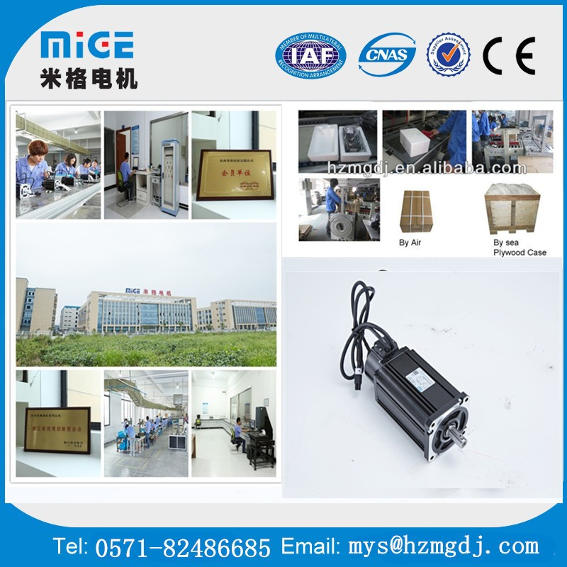 150 series 3.0KW 2000 rpm high quality AC Mige servo motor