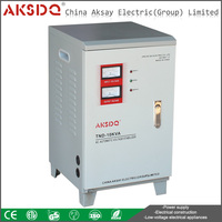 SVC TND Single Phase Power Supply Servo Motor Full Automatic Voltage Stabilizer 15kva For Computer