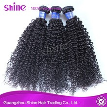 Charming kinky curly virgin cambodian hair extension