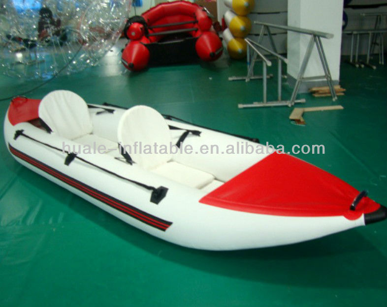 Hot sale two person inflatable kayak inflatable rowing boats