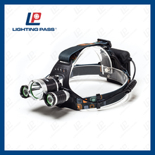500LM headlamp rechargeable with USB charger and wall charger