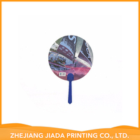 promotion pp mini barbecue hand fan