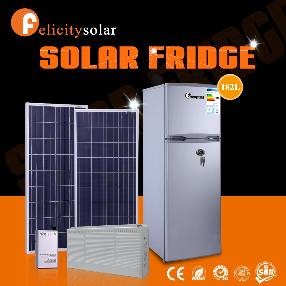 Good price of double door refrigerator dimensions solar freezer fridge with good quality