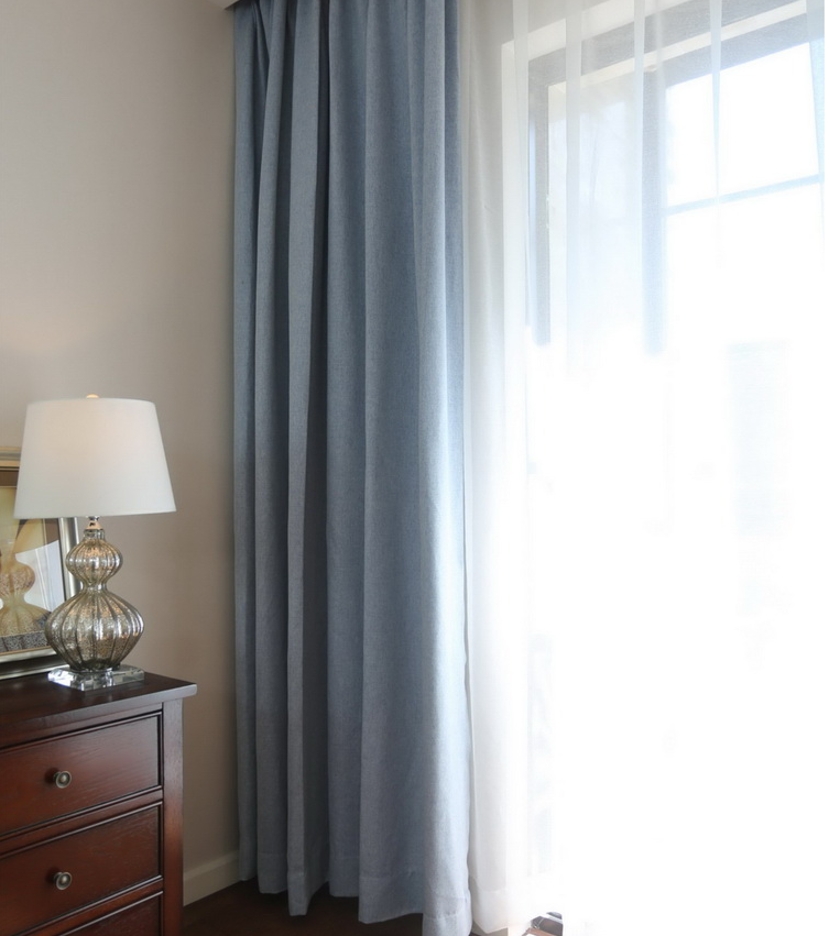 cheap grey linen blackout curtains bedroom cafe window curtain designs fabric on sale