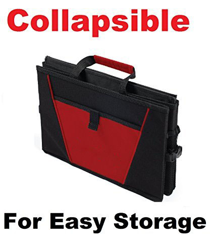 trunk organizer for free car dust with insurance registration holder on extra side pockets