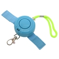 Policeman Recommend Waterproof Personal Alarm for Kids Women Night Shift Workers