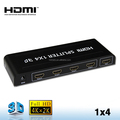 1 INPUT 4 OUTPUTS HDMI Splitter for PC, PS3, DVD, HDTV & projector