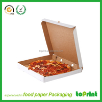 Customize corrugated pizza delivery box for scooter