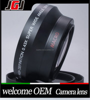 High Quality Digital Camera 0.43x 72mm Wide-Angle Lens For Nikon For Canon For Pentax