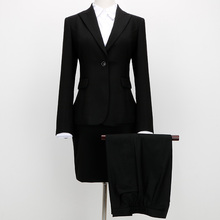 Lady Women's Pants Suit Design Latest Korean Business Formal Best New Women Office Uniform Style