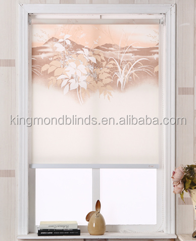 waterproof 3d roller shades printed roller blinds
