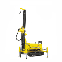 120m depth portable crawler water well drilling rig(KW10) for sale
