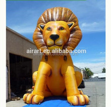 many kinds of inflatable animal cartoon character image giant inflatable lion,hand,superman inflatable animal pvc