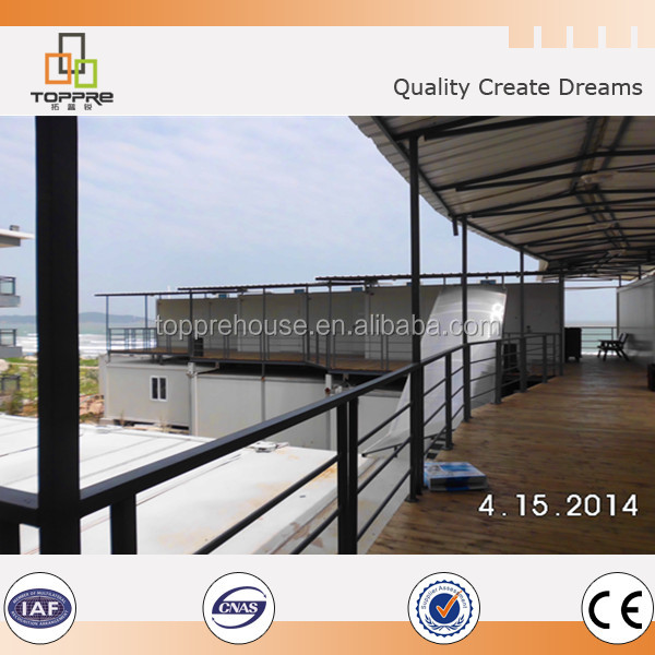 Company office building used container kit house